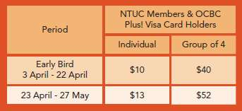 OCBC &amp; NTUC Fees